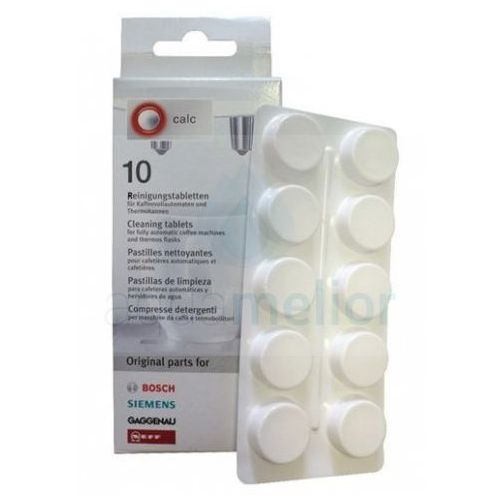 Tabletki czyszczące Bosch/ Siemens 311769 TZ60001 TCZ6001- 10szt, Bosch 311769 / Siemens TZ6001