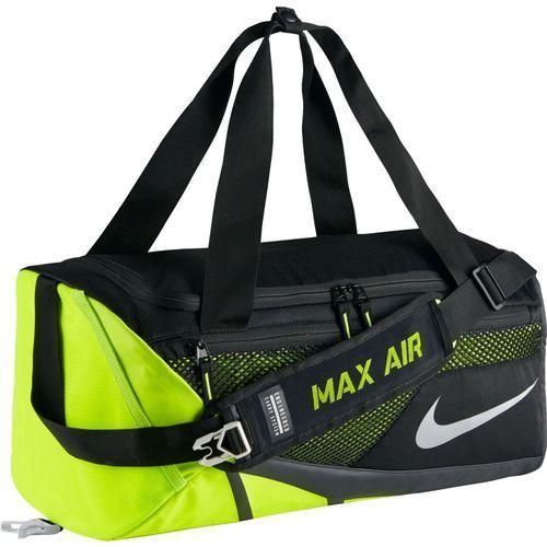 Torba  vapor max air duffel small - ba5249-010 - black/volt/metallic silver marki Nike