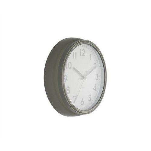 Zegar ścienny Badge metal grey by Karlsson