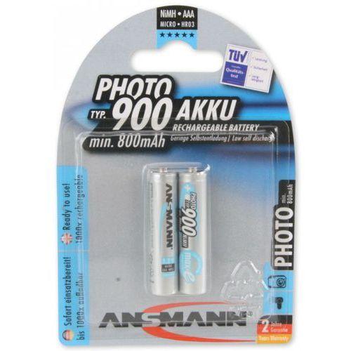Bateria maxe 2x micro aaa (2 sztuki) marki Ansmann
