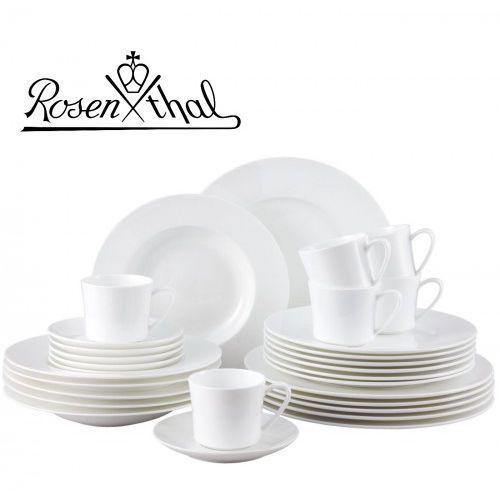 ROSENTHAL JADE serwis obiadowo - kawowy 30el - biały, zestaw, porcelana premium fine bone, 6035-43286