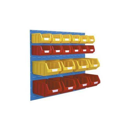 Vipa Zestaw otwartych pojemników magazynowych,do 2 paneli o wys. x szer. 980 x 500 mm