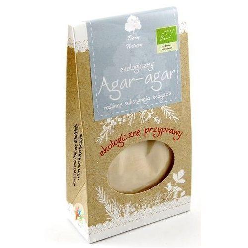 Agar Agar - Substancja Żelująca 20g - Dary Natury EKO - produkt z kategorii- Przyprawy i zioła