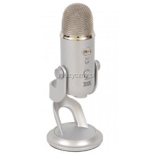 Blue Microphones Yeti mikrofon pojemnościowy USB, wyjście słuchawkowe