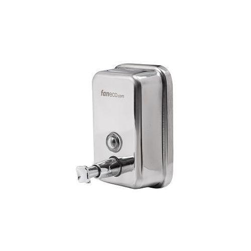 Faneco dozownik mydła w płynie ze stali nierdzewnej DUO 1 l, S1000SPP