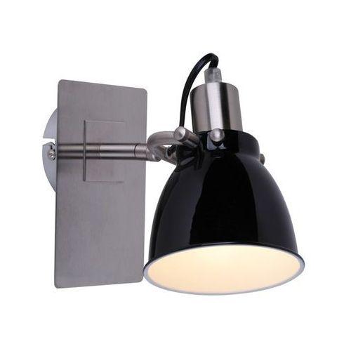 Kinkiet pictor rlb94023-1b lampa ścienna 1x40w e14 chrom/czarny marki Zuma line