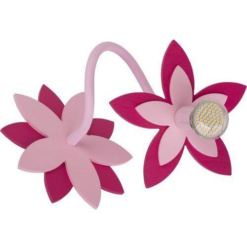 Nowodvorski Kinkiet flowers 6893 kwiatki lampa ścienna 1x35w gu10 różowy