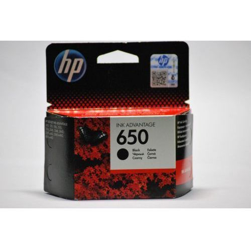 Oryginalny tusz Hp 650XL Black CZ101AE 6ml. 1515 2545 4645, HP650BKOR