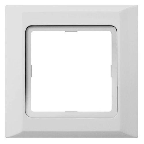 Optima Ramka pojedyncza biała 12011602 HAGER POLO (5901241121163)