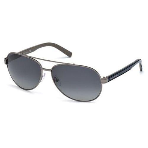 Okulary Słoneczne Ermenegildo Zegna EZ0004 Polarized 08D