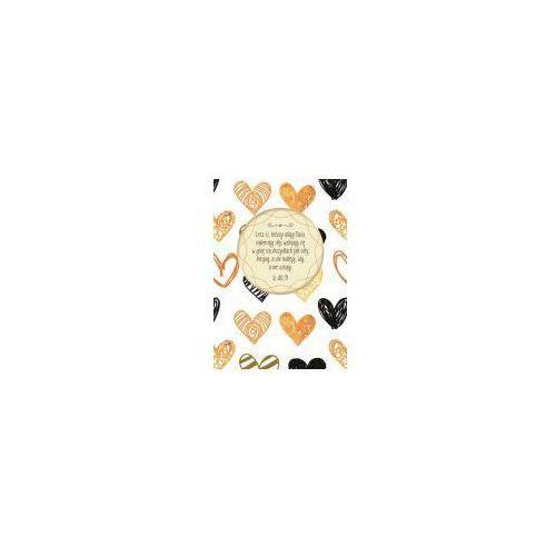 Mój dziennik złote serca marki Szaron