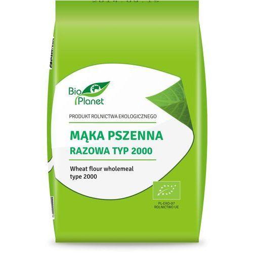 Bio planet : mąka pszenna razowa typ 2000 bio - 1 kg
