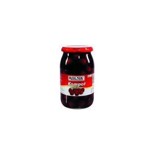 Kompot wiśniowy 900 ml Rolnik - produkt z kategorii- Przetwory warzywne i owocowe