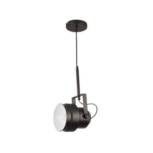 Czarna lampa wisząca w stylu Glamour VIGO, LP-0412/1P BK