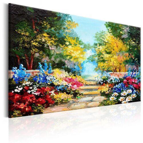 Obraz - Zaułek kwiatów