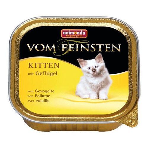 vom feinsten cat kitten drób 100g marki Animonda