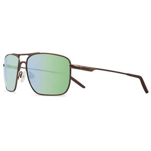Okulary słoneczne re3089 groundspeed serilium polarized 03 gn marki Revo