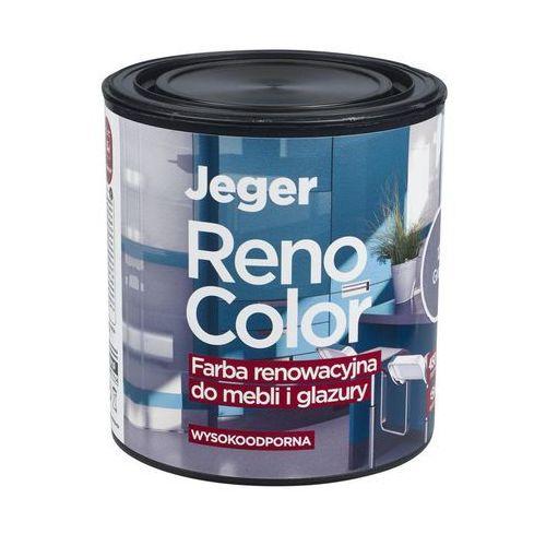 Farba renowacyjna RENO COLOR do mebli i glazury 0.45 l Grafit Wysokoodporna JEGER (5902166637852)