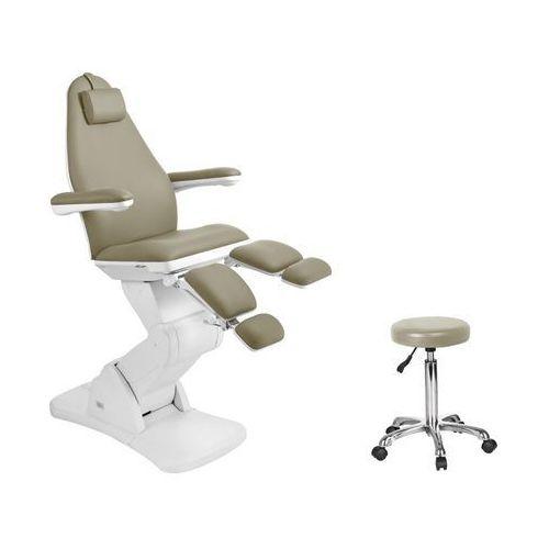 Fotel kosmetyczny elektr. 2244a pedi ciemny beż marki Activ