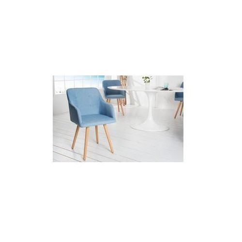Krzesło Annick niebieskie, is-73652
