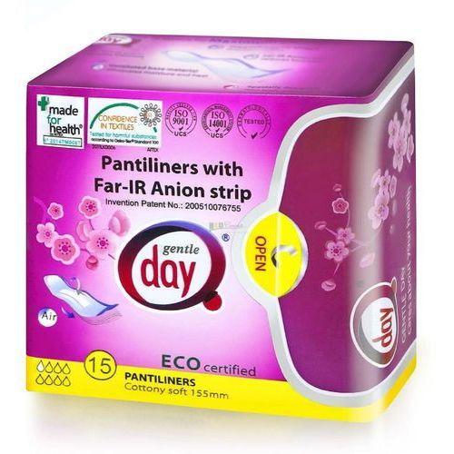 Wkładki higieniczne z paskiem anionowym 15 szt. - gentle day marki Gentle day (podpaski, tampony, wkładki)
