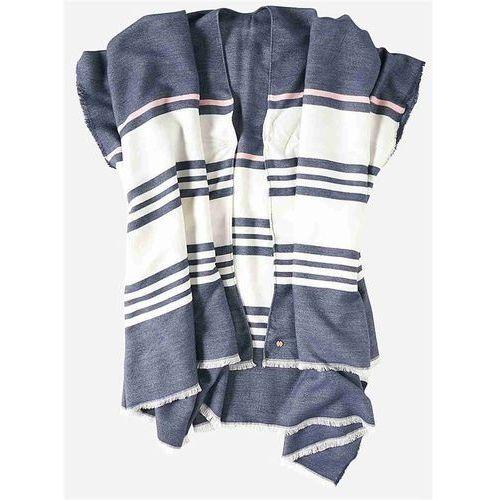 Sweter - poncho maritime blue (bl193) marki Bench