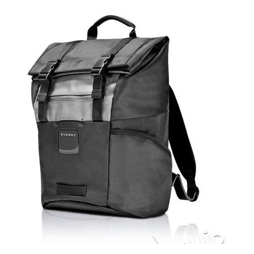 Plecak na laptopa contempro roll top - black marki Everki