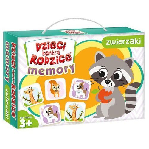 Kangur Memory dzieci kontra rodzice zwierzaki -