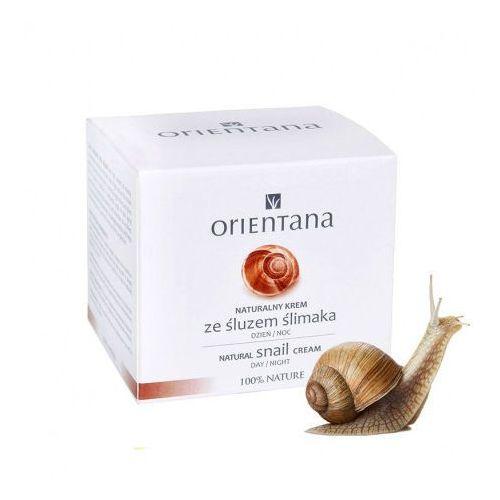 Naturalny krem ze śluzem ślimaka marki Orientana