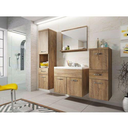 Shower design Zestaw claudia - meble łazienkowe - imitacja drewna