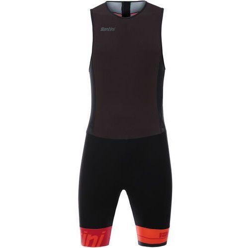 Santini Redux Mężczyźni czerwony/czarny XL 2018 Pianki do pływania