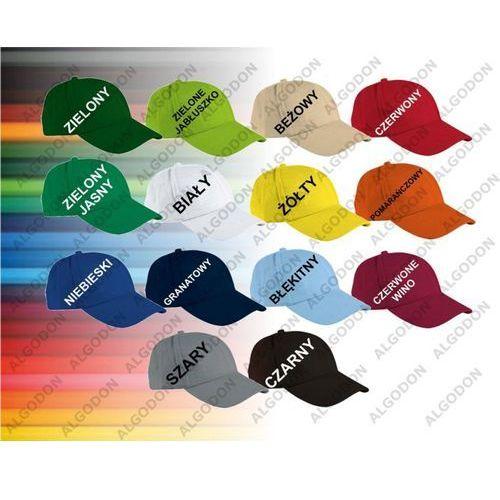 czapka bawełna z daszkiem TORONTO mlodziezowo-dorosle czarny, kolor czarny