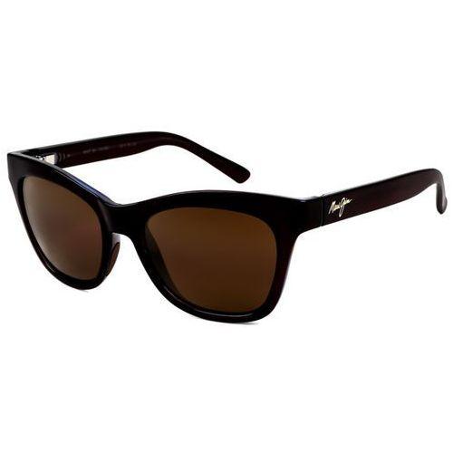 Okulary Słoneczne Maui Jim Sweet Leilani Polarized H722-26C, kolor żółty
