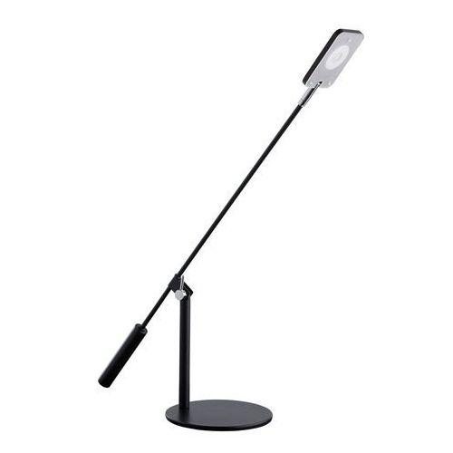 Mw-light Wysoka lampka biurkowa led, regulowana, czarna (631033701)