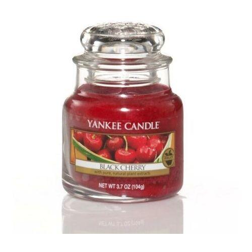 Yankee candle Świeca zapachowa black cherry, słoik mały