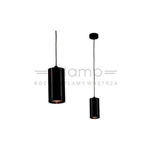 LAMPA wisząca KIKA S 85 Orlicki Design metalowa OPRAWA zwis tuba czarna (1000000280142)