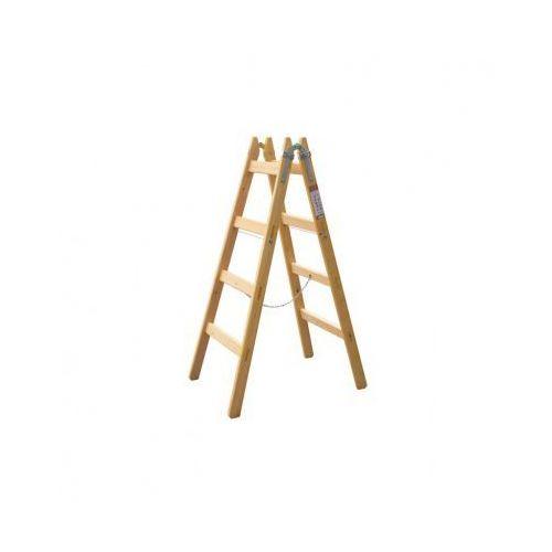 Drabina drewniana Exklusive, 2x4 szczebli