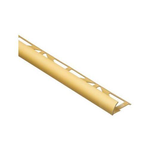 Profil wykończeniowy ZEWNĘTRZNY POLOKRĄGŁY aluminium EASY LINE