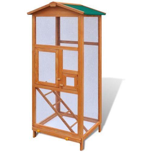 vidaXL Woliera, zewnętrzna klatka dla ptaków (8718475871958)