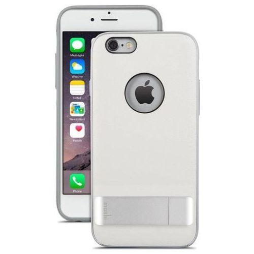iglaze kameleon - etui hardshell z podstawką iphone 6 (ivory white) marki Moshi