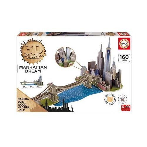 Puzzle 3D Manhattan Dream (8412668170001)