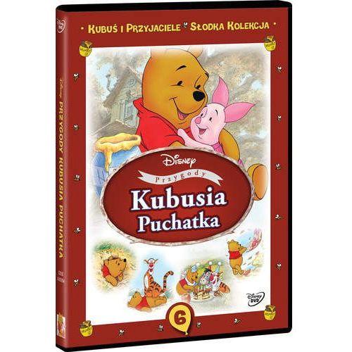 OKAZJA - Kubuś i przyjaciele. Słodka kolekcja. Część 6. Przygody Kubusia Puchatka [DVD] (7321917502542)