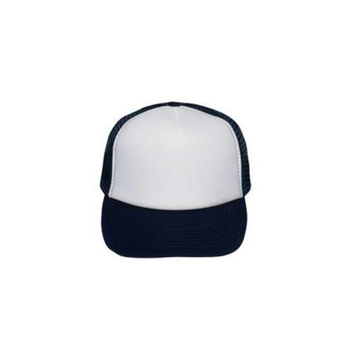Czapka (bez nadruku, gładka) - granatowa, kolor niebieski