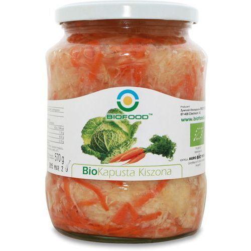 Kapusta kiszona bio 6x700g marki Bio food