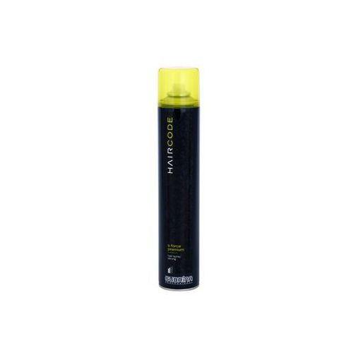 Subrina Professional Hair Code S Force Premium lakier do włosów dla efektu długotrwałego utrwalenia 500 ml (3838980521140)