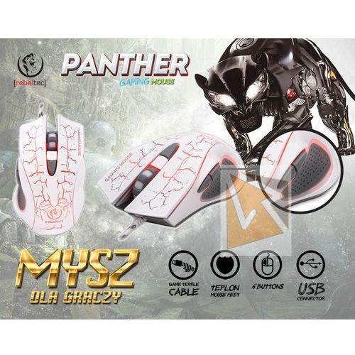 Rebeltec gamingowa mysz optyczna usb panther darmowa dostawa do 400 salonów !!