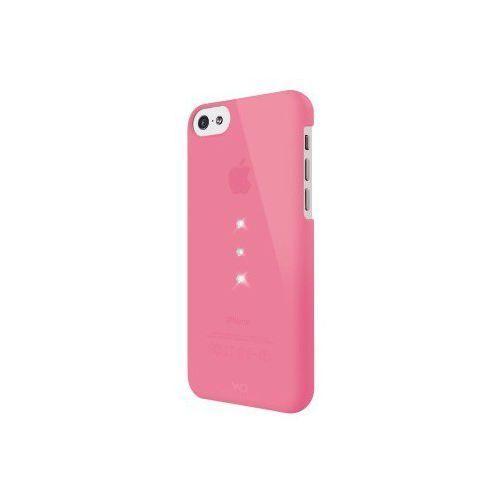 Etui do apple iphone 5c trinity różowy marki White diamonds