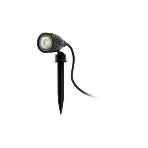 Eglo nema 1-c 98052 lampa stojąca ogrodowa ip44 1x5w gu10 czarny/transparentny (9002759980528)