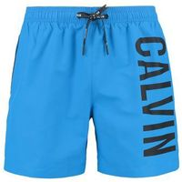 Calvin Klein Swimwear MEDIUM DRAWSTRING Szorty kąpielowe electric blue lemonade, w 4 rozmiarach