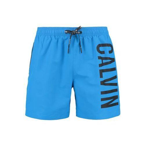 Calvin Klein Swimwear MEDIUM DRAWSTRING Szorty kąpielowe electric blue lemonade, w 4 rozmiarach